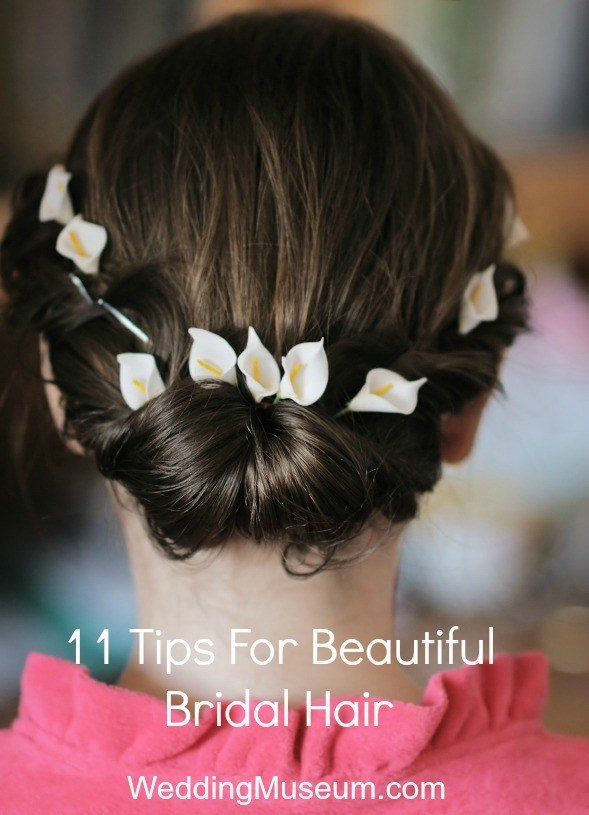 11 Tips For Beautiful Bridal Hair