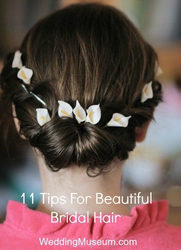 11 Tips For Beautiful Bridal Hair