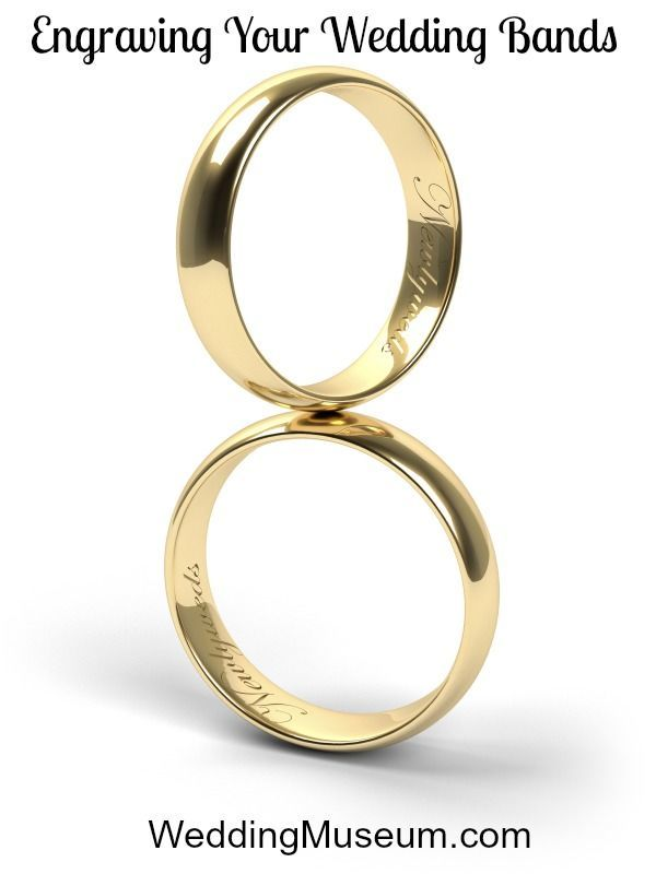 Engraving Your Wedding Bands