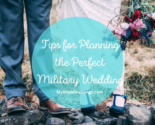 Planning Military Wedding