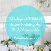 Unique Wedding Truly Memorable