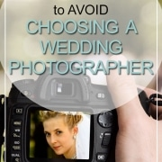 mistakes to avoid choosing wedding photographer