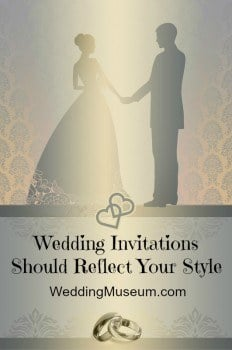Wedding Invitations Say About You