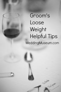 groom lose weight helpful tips