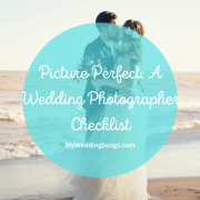 Wedding Photographer Checklist