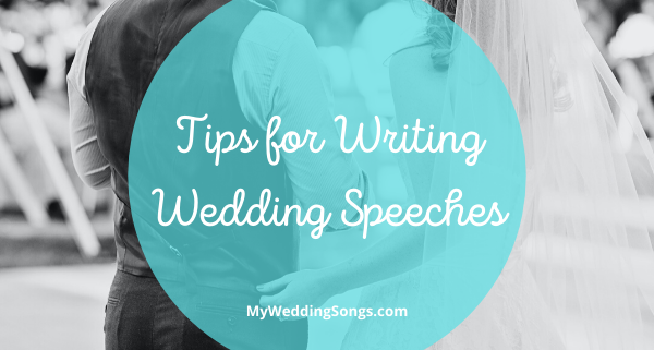 Writing Wedding Speeches
