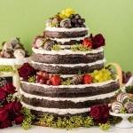 happy endings wedding cake