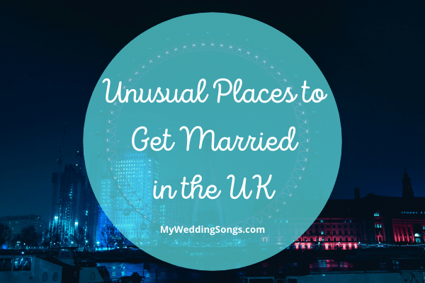 Places Married in the UK