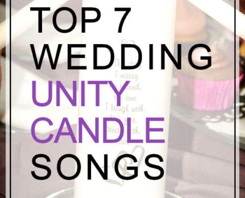 wedding unity candle songs top 7