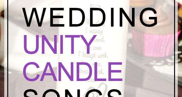 wedding unity candle songs top 7