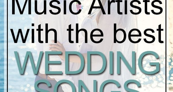 music artists with best wedding songs