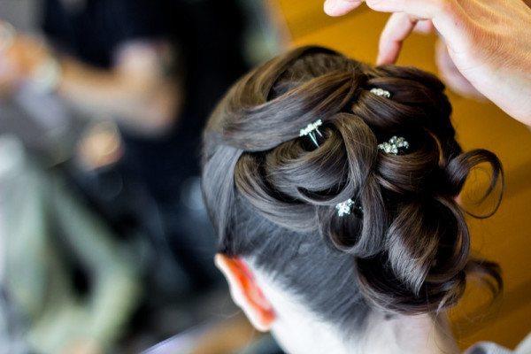 Bride's Hair-Do