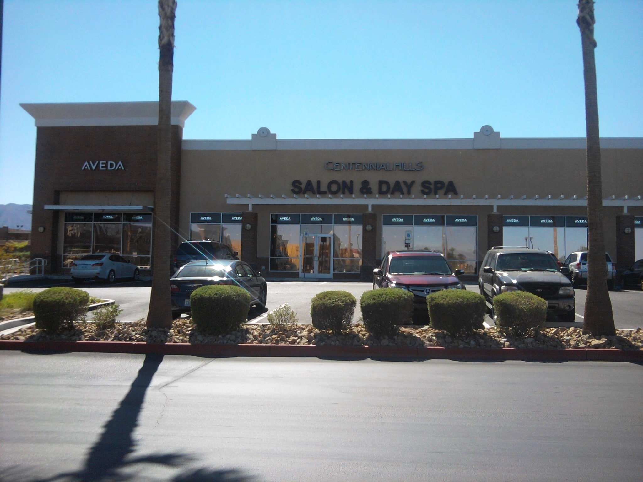 Aveda Centennial Hills Salon Review