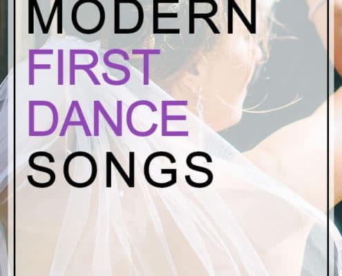 modern first dance songs