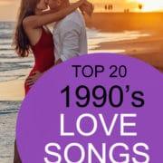 top 20 1990s love songs