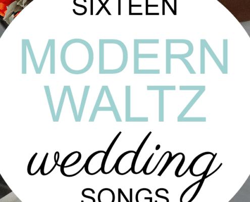 modern waltz wedding songs