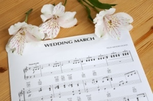 Wedding Sheet Music Theme