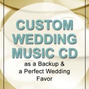 Custom Wedding Music CD