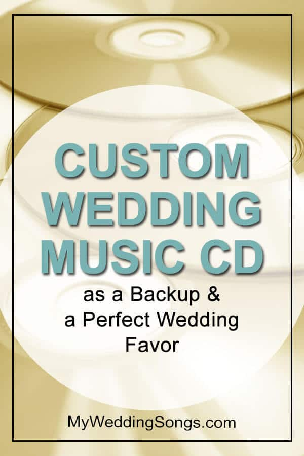 Custom Wedding Music CD