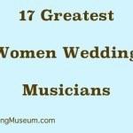 greatest women wedding musicians