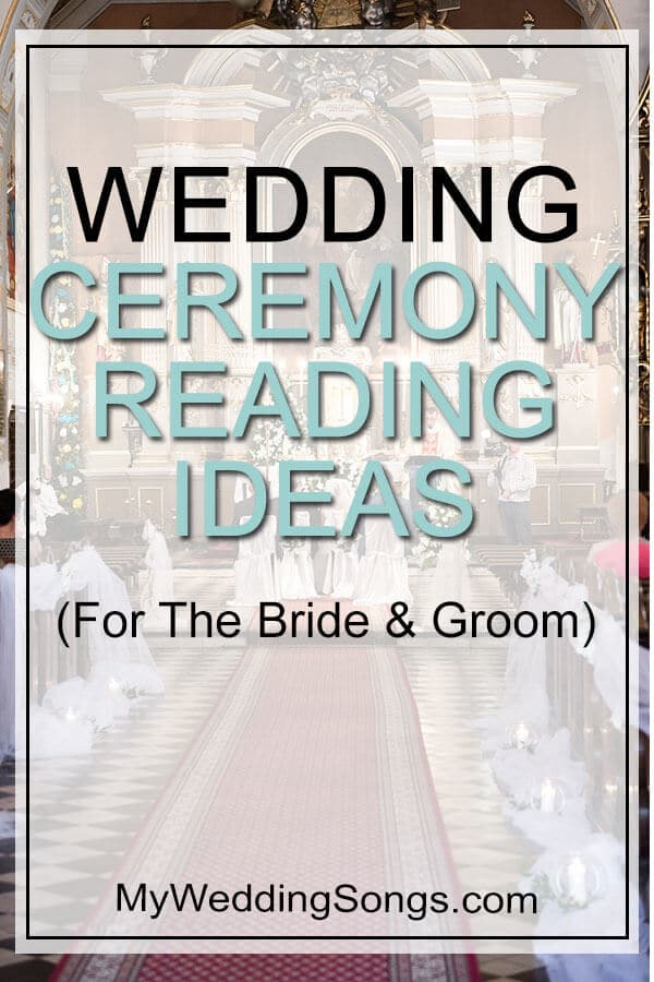 Wedding Ceremony Readings