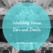 Wedding Venue Dos and Donts