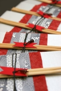 Japanese Wedding Invitation