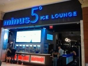 Minus 5 Bar Las Vegas Mandalay Bay