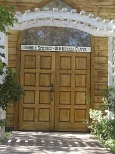 Bonnie Springs Ranch Wedding Chapel las vegas