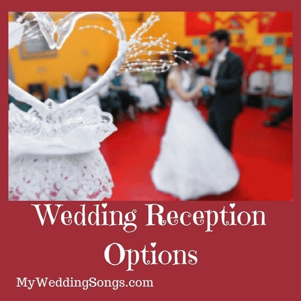 wedding reception options