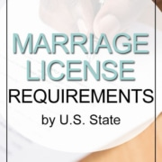 marriage license requirements