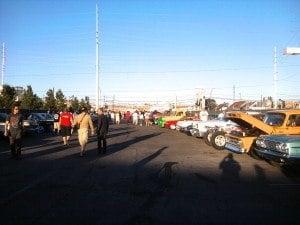 Rick's Restoration Las Vegas car show