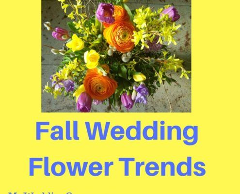 fall wedding flower trends