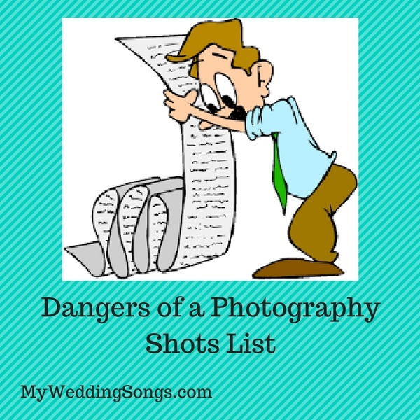 wedding photography shots list