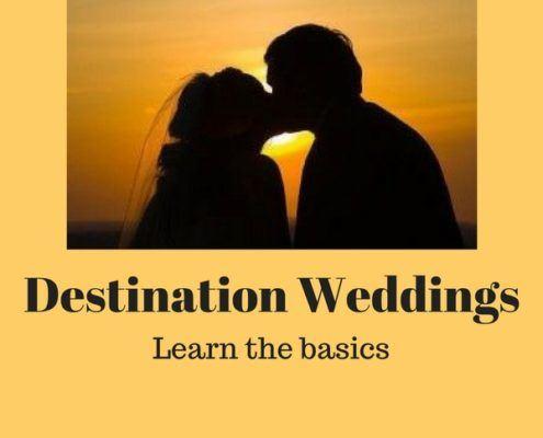 destination weddings basics