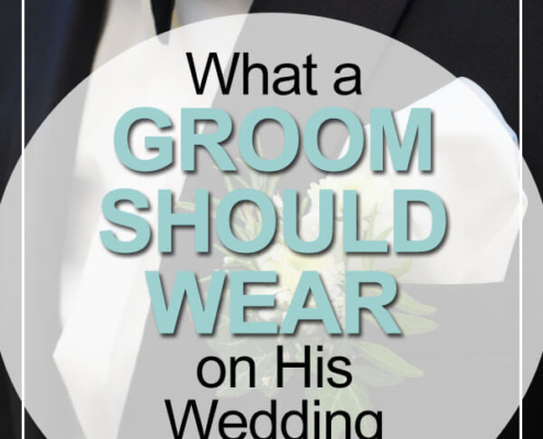 what a groom should wear