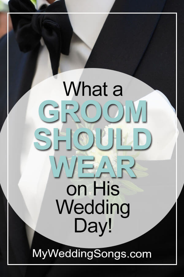 what a groom should wear