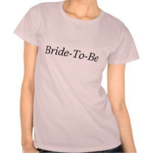 bride to be womens t shirt