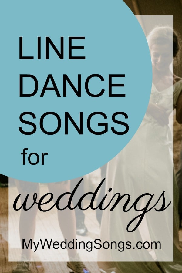 best group line dance songs for weddings