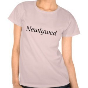 newlywed womens t shirt