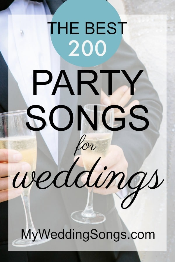 best party songs for weddings