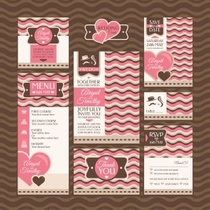 Wedding Paper Stationery