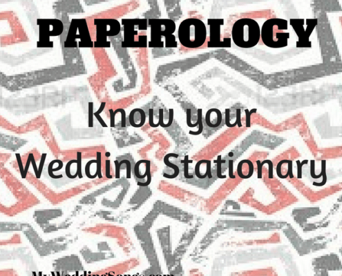 wedding paper stationary