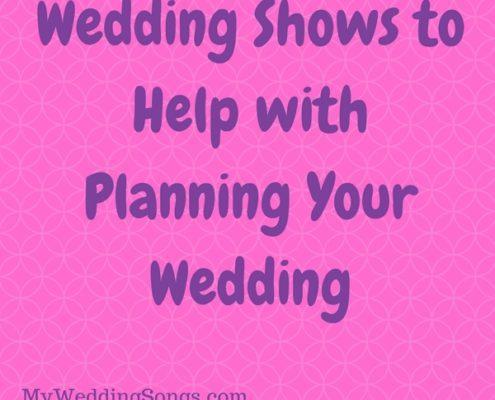 wedding shows for wedding planning