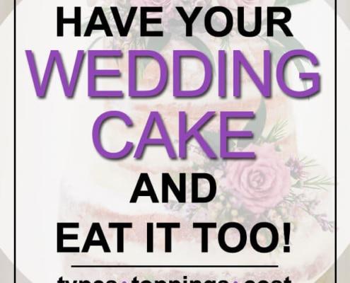 eat your wedding cake