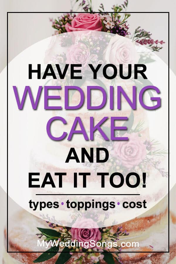 eat your wedding cake