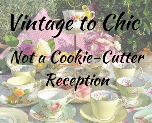 vintage to chic reception