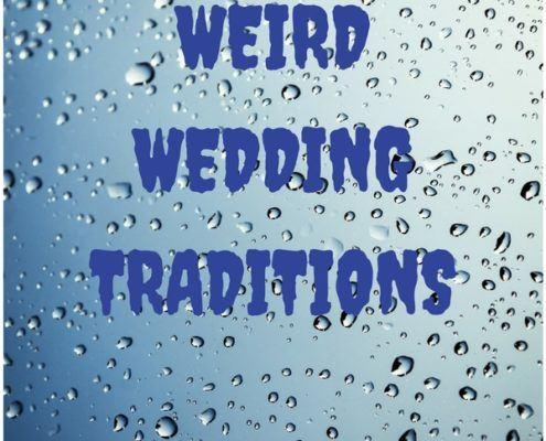 weird wedding traditions