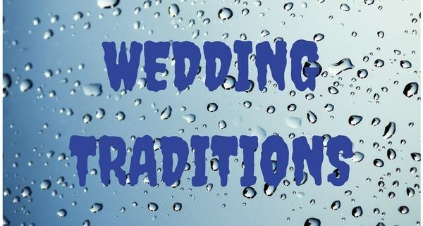 weird wedding traditions