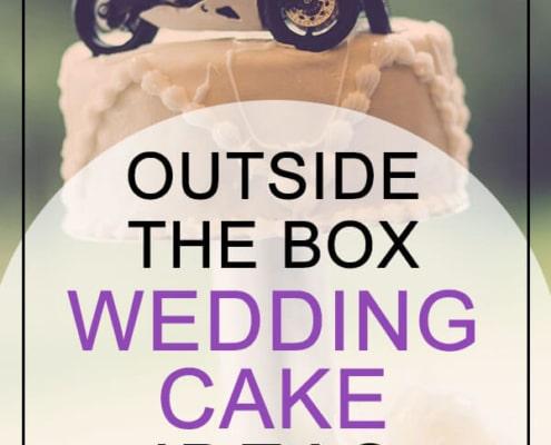 wedding cake topper ideas non-traditional